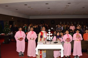 Fr. Francis Nambiaparambil's Send off and Welcome to Fr. Joseph Pullikattil