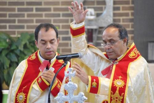Rev. Fr. Kurian Ammanathukunnel MST , Director General of the Missionary Society of Saint Thomas Celebrates Holy Qurbana