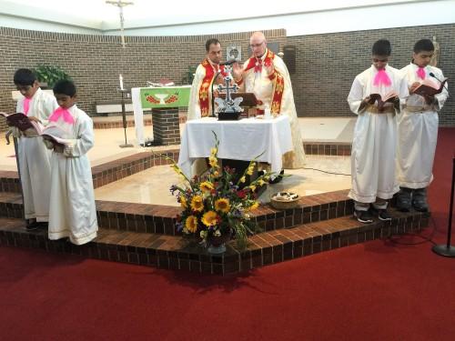 Fr. Joseph & Fr. Dennis Connell Celebrating Holy Qurbana